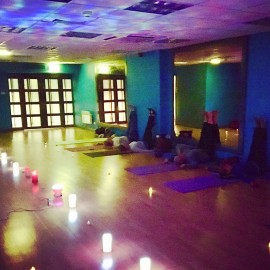 15 December 2017 Christmas special Yoga by candlelight